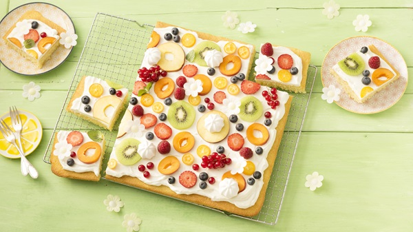 recipe image Limokuchen Obstwiese