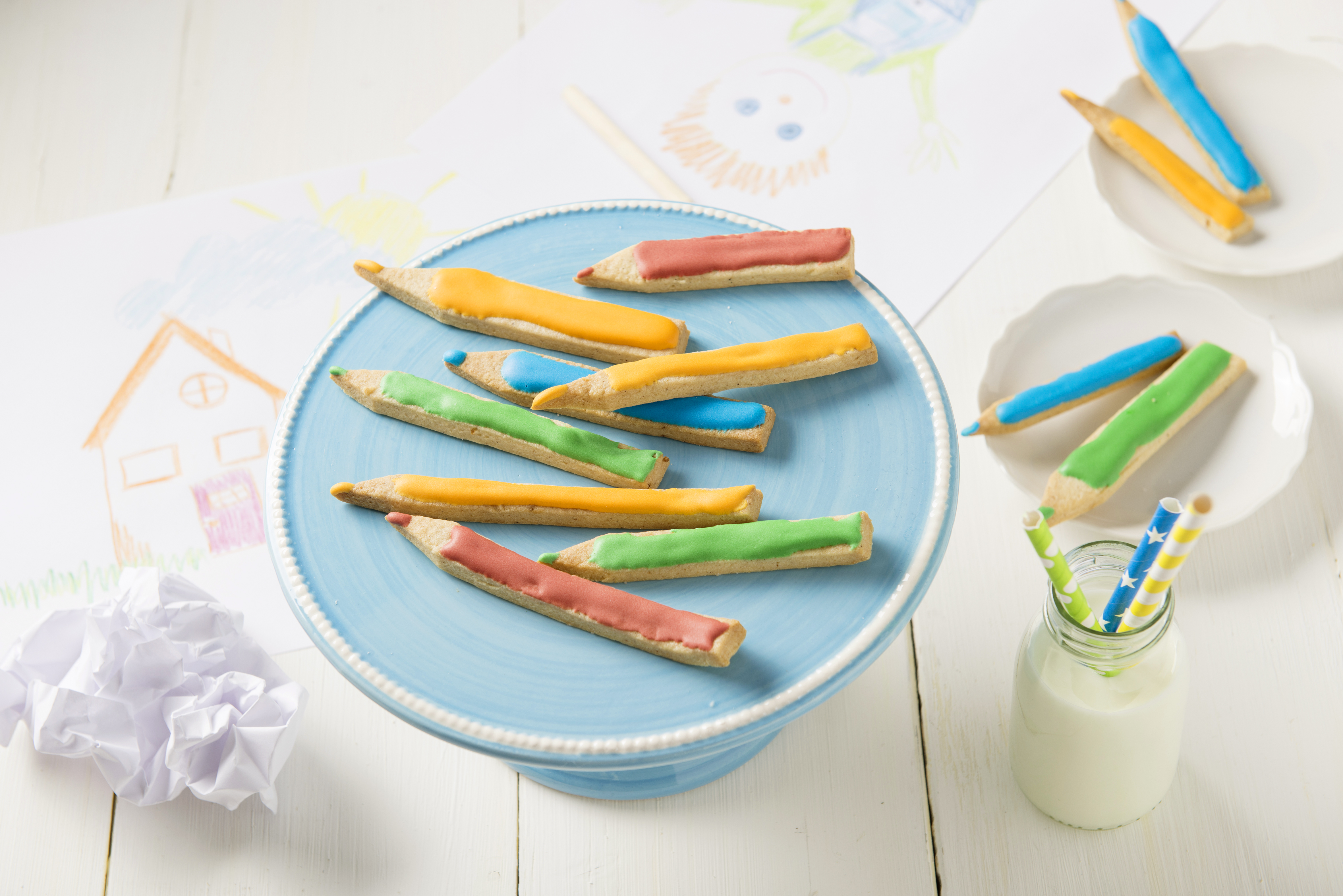 recipe image Buntstift-Kekse